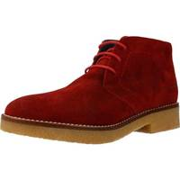 Sapatos Mulher Botas baixas Xicc Shoes EX212 Vermelho