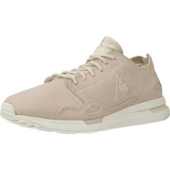 Sapatos Mulher Sapatilhas Le Coq Sportif LCS R FLOW W METALLIC SUEDE Rosa