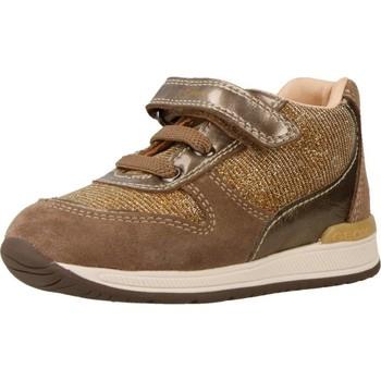 Sapatos Rapariga Sapatilhas de cano-alto Geox B RISHON GIRL Marron