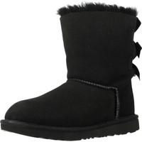 Sapatos Rapariga Botas de neve UGG BAILEY BOW II Preto