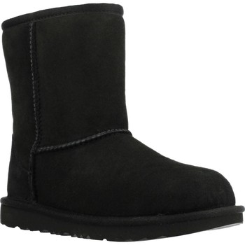 Sapatos Rapariga Botas de neve UGG CLASSIC II Preto