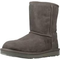 Sapatos Rapariga Botas de neve UGG CLASSIC II Cinza