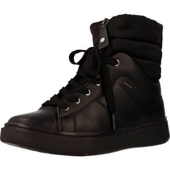 Sapatos Mulher Sapatilhas de cano-alto Geox D MAYRAH B ABX Preto