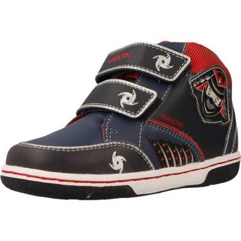 Sapatos Rapaz Sapatilhas de cano-alto Geox B FLICK BOY Azul