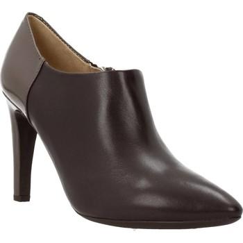 Sapatos Mulher Botas baixas Geox D CAROLINE Marron