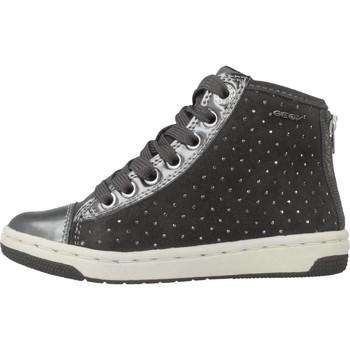 Sapatos Rapariga Sapatilhas de cano-alto Geox JR CREAMY Cinza