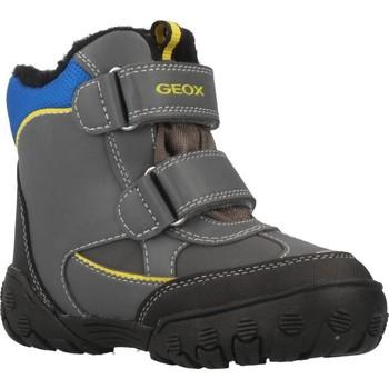 Sapatos Rapaz Botas de neve Geox B GULP B BOY ABX Cinza