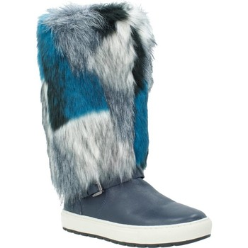 Sapatos Mulher Botas Geox D BREEDA Azul