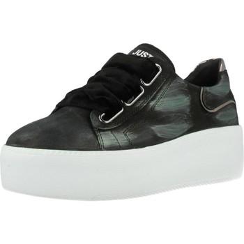 Sapatos Mulher Sapatilhas Just Another Copy JACPOP006 Preto