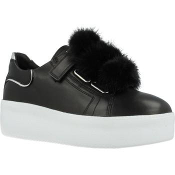 Sapatos Mulher Sapatilhas Just Another Copy JACPOP007 Preto