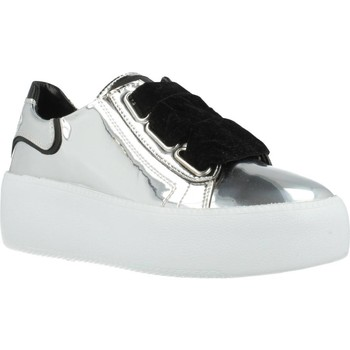Sapatos Mulher Sapatilhas Just Another Copy JACPOP001 Silver