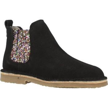 Sapatos Rapariga Botas baixas B-Run 301B Preto