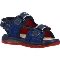 Sapatos Rapaz Sandálias desportivas Geox B SANDAL TODO BOY Azul
