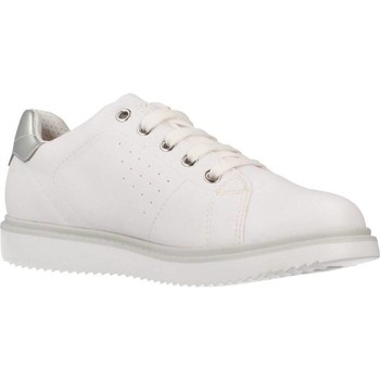 Sapatos Rapariga Sapatilhas Geox J THYMAR GIRL Branco