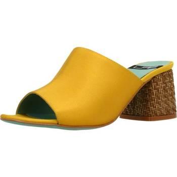 Sapatos Mulher Chinelos Lab 18254 431 Amarelo