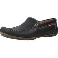 Sapatos Homem Mocassins Fluchos 9083F Azul