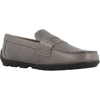 Sapatos Rapariga Mocassins Geox JR FAST Cinza