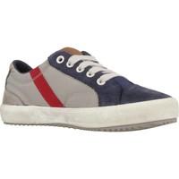 Sapatos Rapaz Sapatilhas Geox J ALONISSO BOY Cinza