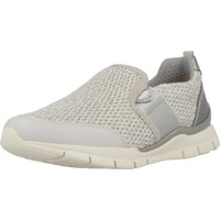 Sapatos Rapariga Slip on Geox J SUKIE GIRL Silver