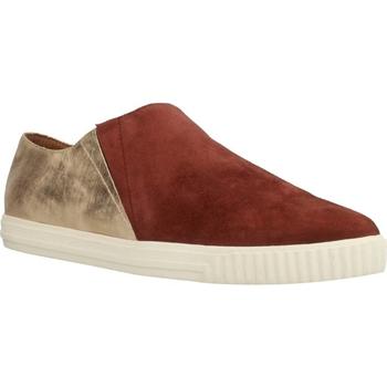Sapatos Mulher Slip on Geox D AMALTHIA Marron