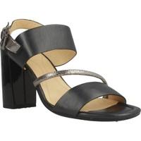 Sapatos Mulher Sandálias Geox D AUDALIES HIGH SAND Preto
