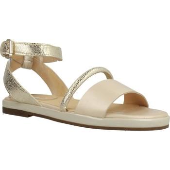 Sapatos Mulher Sandálias Geox D KOLLEEN Ouro