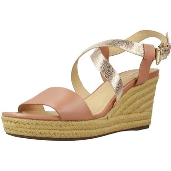 Sapatos Mulher Alpargatas Geox D SOLEIL Marron