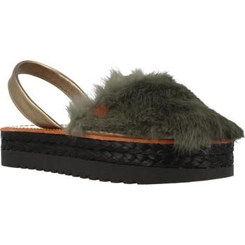 Sapatos Mulher Sandálias Menorquinas Popa GOA Verde