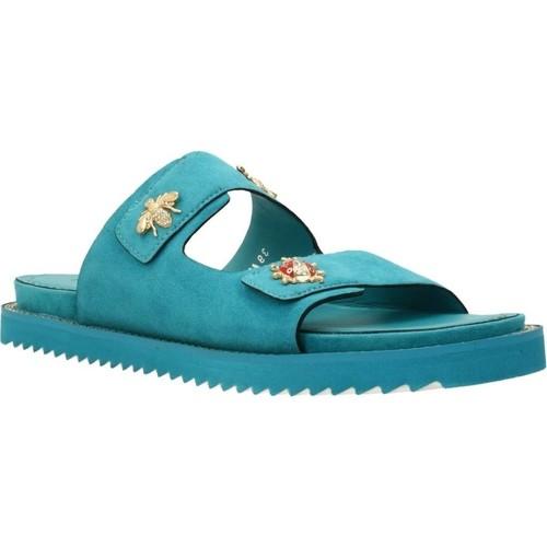 Sapatos Mulher Sandálias Elvio Zanon H0503P Azul