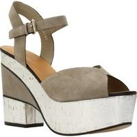 Sapatos Mulher Sandálias Elvio Zanon H5701P Marron