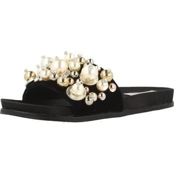 Sapatos Mulher chinelos Steve Madden DELICATE Preto