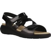 Sapatos Mulher Sandálias Pinosos 7574P Preto