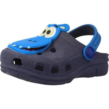 Sapatos Rapaz Tamancos Plugt BABUCHE BABY NEON PAPA T Azul