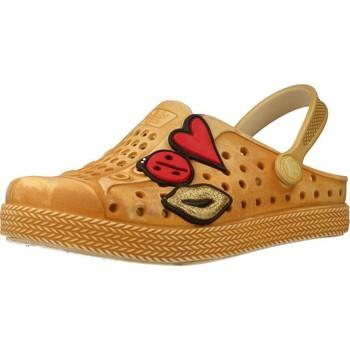Sapatos Rapariga Tamancos Plugt BABUCHE JOY KIDS PATCHE Marron