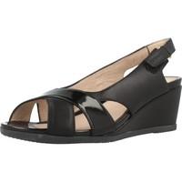 Sapatos Mulher Sandálias Stonefly SWEET III 4 Preto