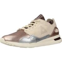 Sapatos Mulher Sapatilhas Le Coq Sportif S R FLOW W METALLIC LEATH Beis