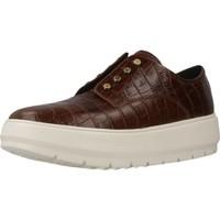 Sapatos Mulher Slip on Geox D KAULA C Marron
