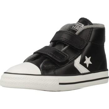Sapatos Rapaz Sapatilhas de cano-alto Converse STAR PLAYER 2V MID Preto