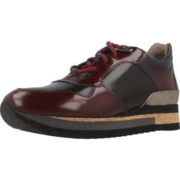 Sapatos Mulher Sapatilhas Angel Infantes 570A Vermelho