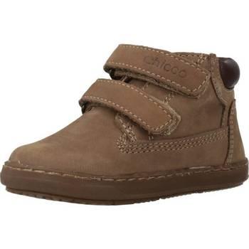 Sapatos Rapaz Sapatilhas de cano-alto Chicco 1060447 Marron