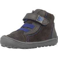 Sapatos Rapaz Sapatilhas de cano-alto Garvalin 181304 Cinza