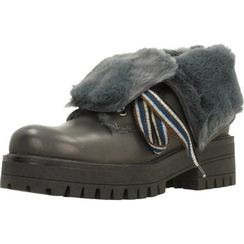 Sapatos Mulher Botas baixas Elena 38132C Cinza