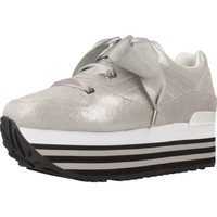 Sapatos Mulher Sapatilhas Apepazza 83013 Silver