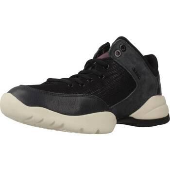 Sapatos Mulher Sapatilhas de cano-alto Geox D SFINGE Cinza