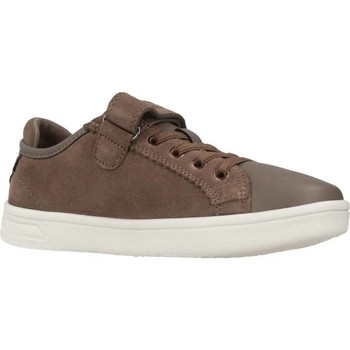Sapatos Rapariga Sapatilhas Geox J DJROCK GIRL Marron