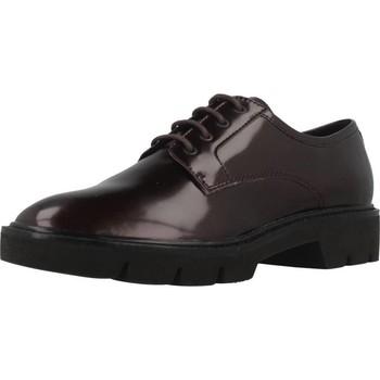 Sapatos Mulher Sapatos Geox D QUINLYNN Vermelho