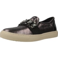 Sapatos Mulher Slip on Geox D TRYSURE Silver