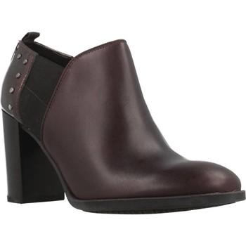 Sapatos Mulher Botas baixas Geox D HERIETE HIGH Marron