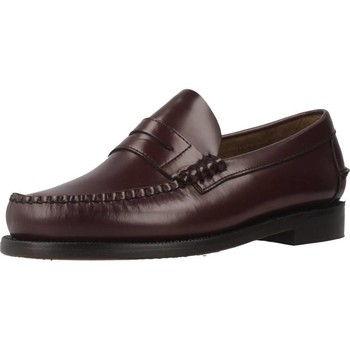 Sapatos Homem Mocassins Sebago 7000300W ANCHO ESPECIAL Vermelho