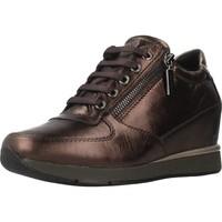 Sapatos Mulher Sapatilhas de cano-alto Stonefly JACKIE 3 LAMINAT Marron